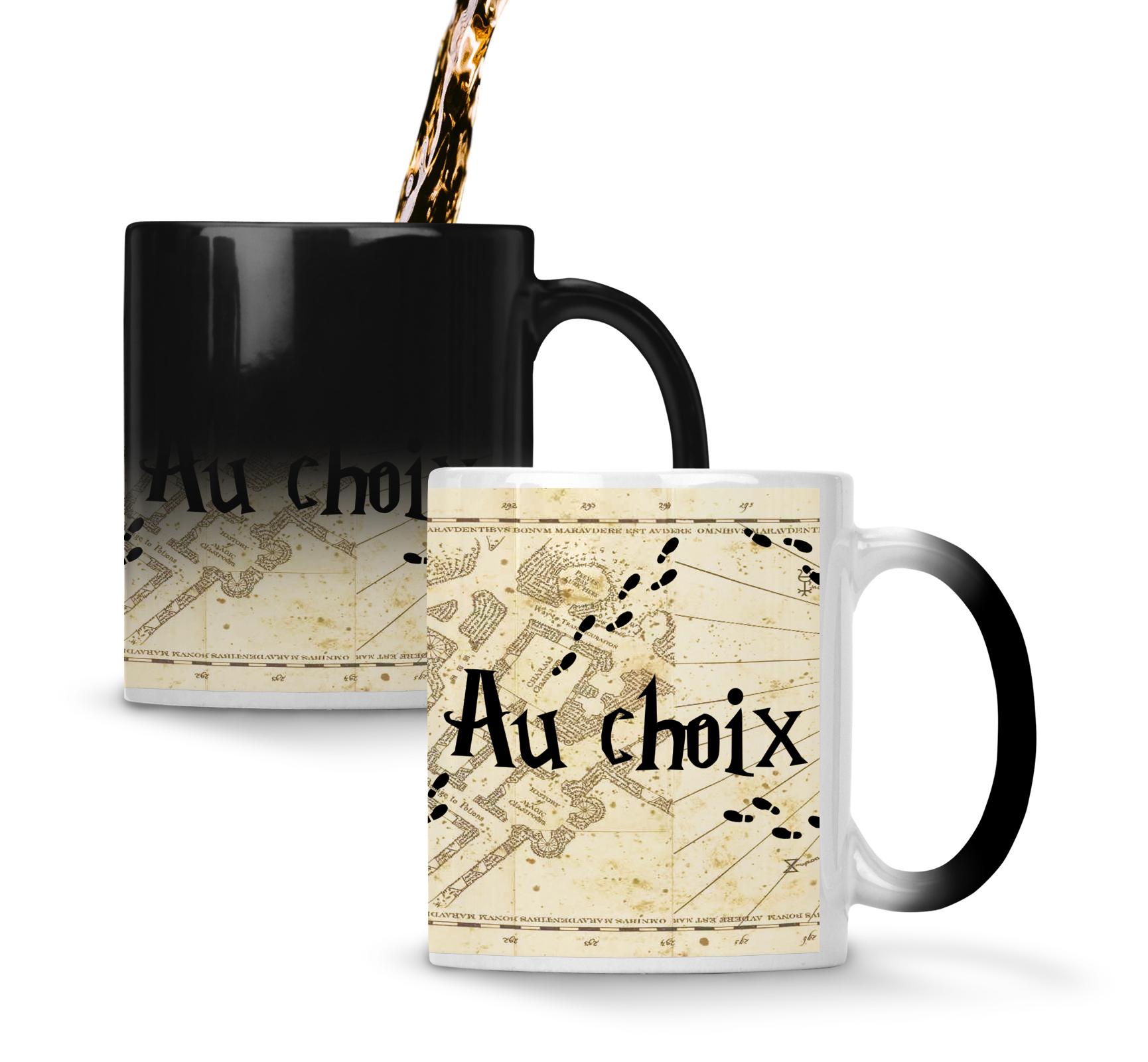 Harry Mug Potter Du Maraudeur Carte Magique Prénom Avec nOkw8P0